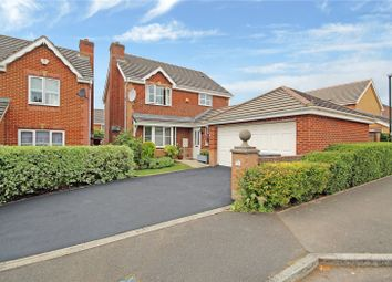 Thumbnail 4 bed detached house for sale in Kelly Gardens, Abbeymeads, Swindon