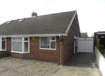 Thumbnail 2 bed semi-detached bungalow to rent in Rosewood Crescent, Seaton Sluice, Tyne & Wear