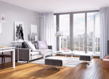 Thumbnail 2 bed flat for sale in Hallsville Quarter, Canning Town, London