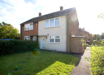 Thumbnail 2 bedroom semi-detached house to rent in Bowbridge Avenue, Littleover, Derby