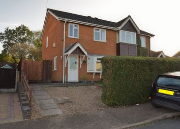 Thumbnail 3 bed semi-detached house for sale in Stirling Drive, Thurnby, Leicester