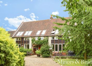 Thumbnail 7 bed barn conversion for sale in Back Lane, Rackheath, Norwich
