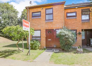 Thumbnail 1 bed end terrace house for sale in Skipton Way, Horley