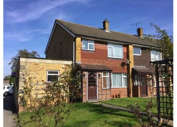 Thumbnail 4 bed end terrace house for sale in Malan Close, Biggin Hill, Westerham