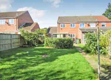 Thumbnail 3 bed semi-detached house for sale in Maltings Way, East Harling, Norwich
