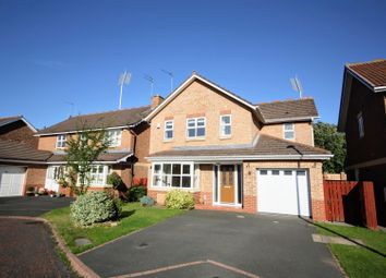 Thumbnail 3 bed detached house for sale in Bradman Drive, Chester Le Street
