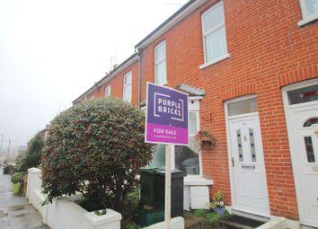 Thumbnail 3 bedroom terraced house for sale in Salehurst Road, Eastbourne
