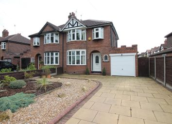 Thumbnail 3 bed semi-detached house for sale in Moorside Road, Urmston, Manchester
