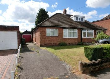 Thumbnail 2 bed semi-detached bungalow for sale in Heath Road, Hollywood, Birmingham