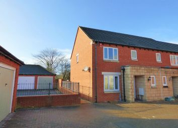 Thumbnail 3 bed end terrace house for sale in Sloe Close, Weston-Super-Mare