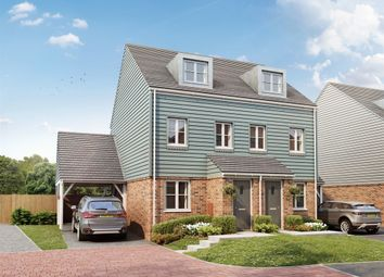 "Thumbnail 3 bed semi-detached house for sale in ""The Souter"" at Poplar Close, Bexhill-On-Sea"