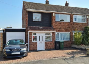 Thumbnail 3 bed semi-detached house for sale in Blenheim Road, Birstall