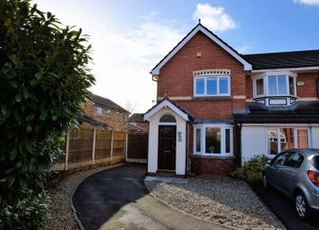 Thumbnail 2 bedroom semi-detached house for sale in Eastwood Close, Bolton