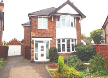 Thumbnail 3 bed detached house for sale in Highcroft Drive, Wollaton, Nottingham, Nottinghamshire
