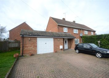Thumbnail 3 bed semi-detached house for sale in Somerville Crescent, Yateley, Hampshire
