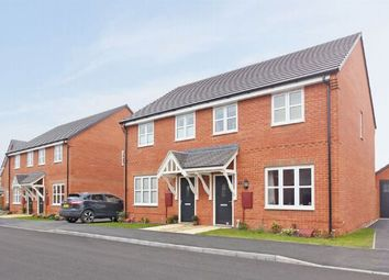 Thumbnail 3 bedroom semi-detached house for sale in The Studland, Buckton Fields, Northampton