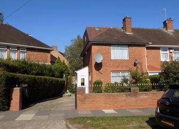 Thumbnail 4 bed end terrace house for sale in Oakcroft Road, Billesley, Birmingham