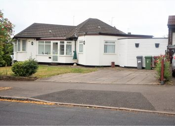 Thumbnail 4 bed detached bungalow for sale in Marcot Road, Solihull