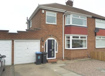 Thumbnail 3 bedroom semi-detached house for sale in The Oval, Middlesbrough