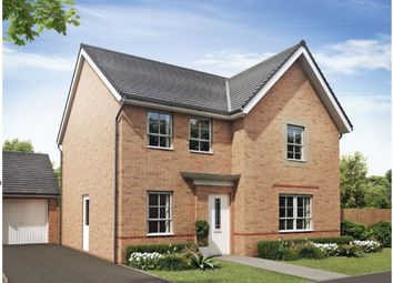 "Thumbnail 4 bedroom detached house for sale in ""Radleigh"" at Heol Pentre Bach, Gorseinon, Swansea"