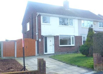 Thumbnail 3 bed semi-detached house to rent in Fieldhead Ave, Elton, Bury