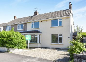 Thumbnail 3 bed semi-detached house for sale in Purcell Road, Penarth