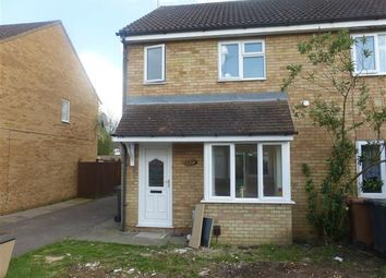 Thumbnail 2 bed end terrace house for sale in Eaglesthorpe, Peterborough