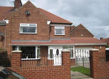 Thumbnail 4 bed semi-detached house to rent in Davison Avenue, Sunderland