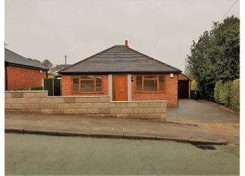 Thumbnail 2 bed detached bungalow for sale in Meadow Road, Stoke-On-Trent