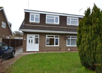 Thumbnail 3 bed semi-detached house to rent in Halifax Drive, Worthing