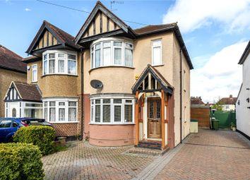 Thumbnail 3 bed semi-detached house for sale in Burnham Avenue, Ickenham, Uxbridge, Middlesex