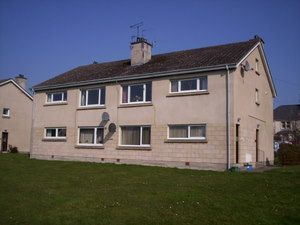 Thumbnail 2 bedroom flat to rent in Fleurs Road, Moray, Elgin
