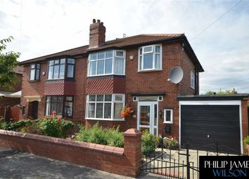 Thumbnail 3 bed semi-detached house for sale in Roxton Road, Heaton Chapel, Stockport, Greater Manchester