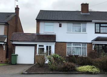 Thumbnail 3 bed semi-detached house to rent in The Holmes, Wolverhampton