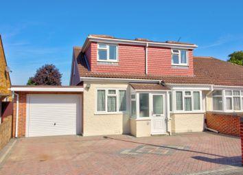 Fairview Avenue, Rainham, Gillingham ME8. 4 bed semi-detached bungalow