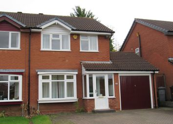 Thumbnail 3 bed semi-detached house for sale in Shelsley Way, Hillfield, Solihull
