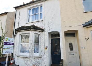 Thumbnail 2 bed semi-detached house for sale in Belle Vue Road, Aldershot