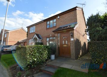Thumbnail 2 bed semi-detached house to rent in Hazeldene Road, Hamilton, Leicester