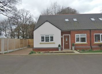Thumbnail 3 bed semi-detached bungalow for sale in Highfield Close, Swynnerton, Stone