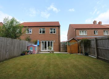 Thumbnail 3 bed semi-detached house for sale in Longbridge Close, Easingwold, York