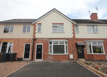 Thumbnail 3 bed town house for sale in Markfield Road, Ratby, Leicester