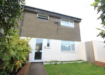 Thumbnail 3 bed end terrace house for sale in Heathfield Close, Chatham, Kent
