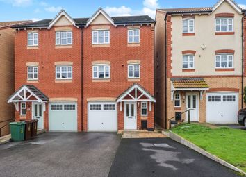 Thumbnail 4 bed semi-detached house for sale in Grove Close, Hemsworth, Pontefract