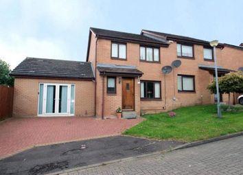 Thumbnail 3 bed semi-detached house for sale in Swinton Path, Baillieston, Glasgow, Lanarkshire