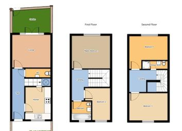 Thumbnail 4 bed terraced house for sale in Scholars Terrace, Peel Street, Maidstone