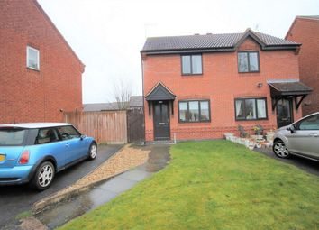 Thumbnail 2 bed semi-detached house to rent in Sixth Avenue, Edwinstowe, Mansfield, Nottinghamshire