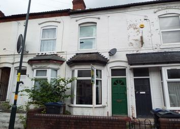 Thumbnail 2 bedroom terraced house for sale in Winnie Road, Birmingham, West Midlands