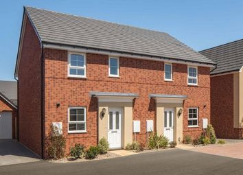 "Thumbnail 3 bedroom semi-detached house for sale in ""Folkestone"" at Briggington, Leighton Buzzard"