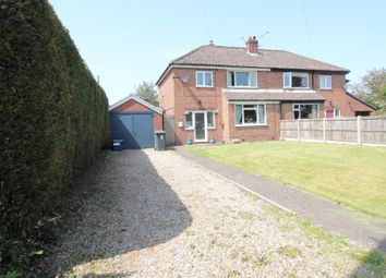 Thumbnail 3 bed semi-detached house for sale in St. Marys Terrace, Station Road, Carlton, Goole