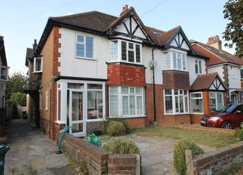 Thumbnail 2 bed flat to rent in Chelston Avenue, Hove